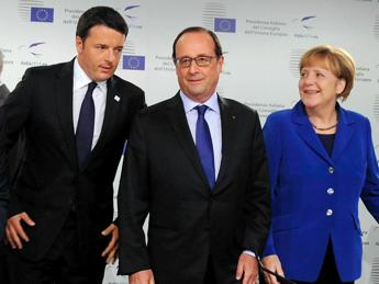 Renzi, Merkel, Hollande in summit to mull EU's future post-Brexit