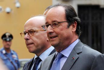 Il presidente Hollande in visita dal Papa: