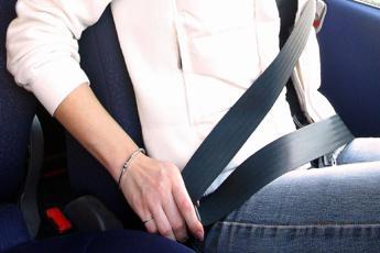 Cinture in auto, al via controlli a tappeto