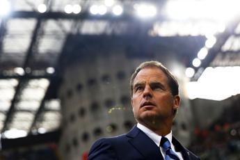 De Boer pensa all'Empoli: Voglio la stessa intensità vista con la Juve