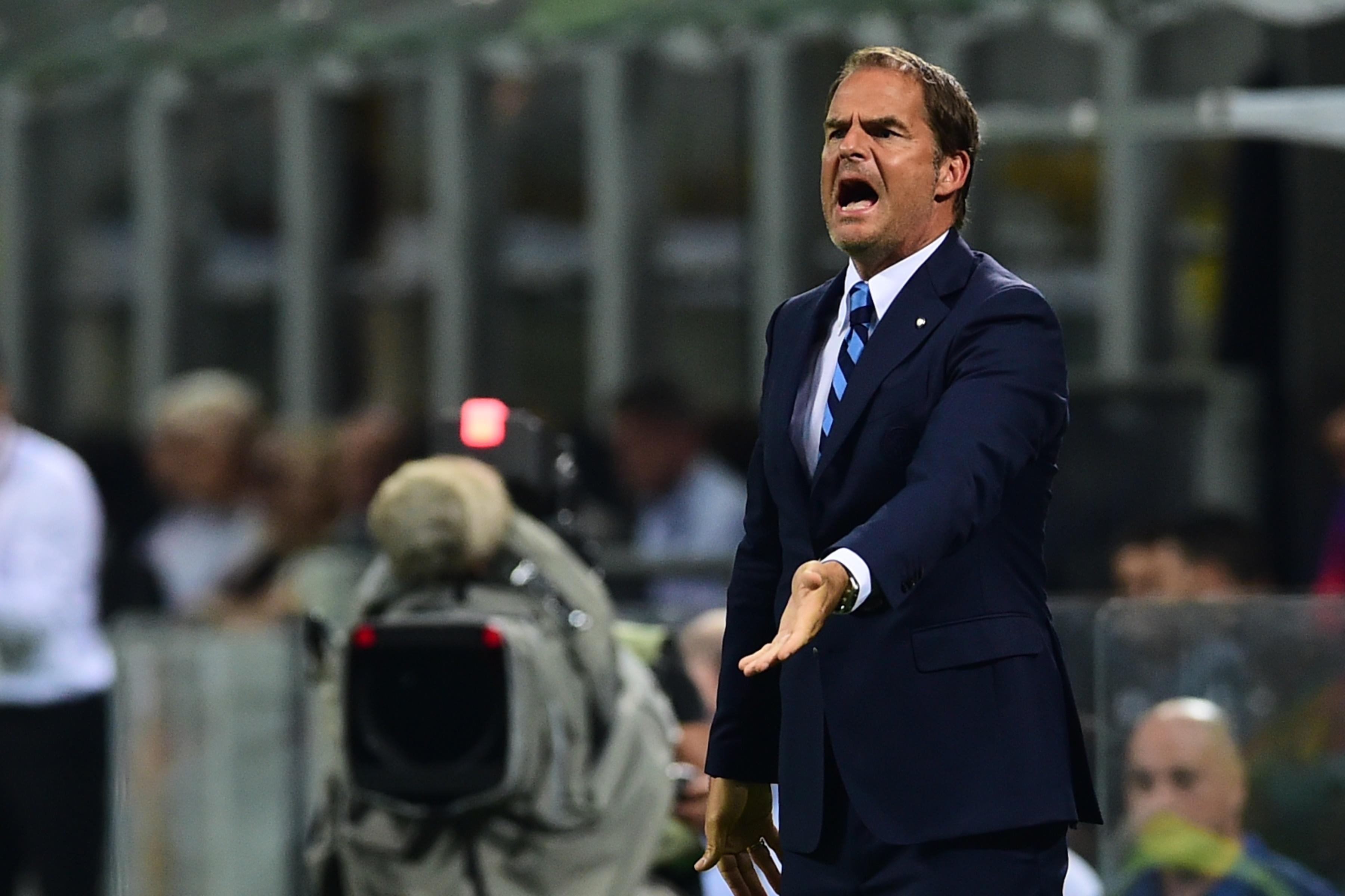"""De Boer si prepara al derby d'Italia: """"Juve forte ma l'Inter non ha paura"""""""