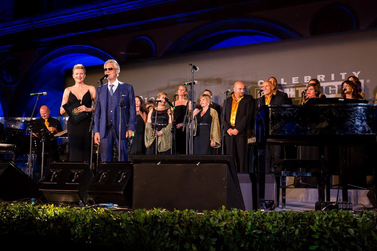 """Celebrity Fight Night Italy, Stefanenko: """"Grazie a Bocelli per serata nobile e magica"""""""