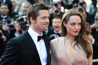 Jolie e Pitt in tribunale per i figli