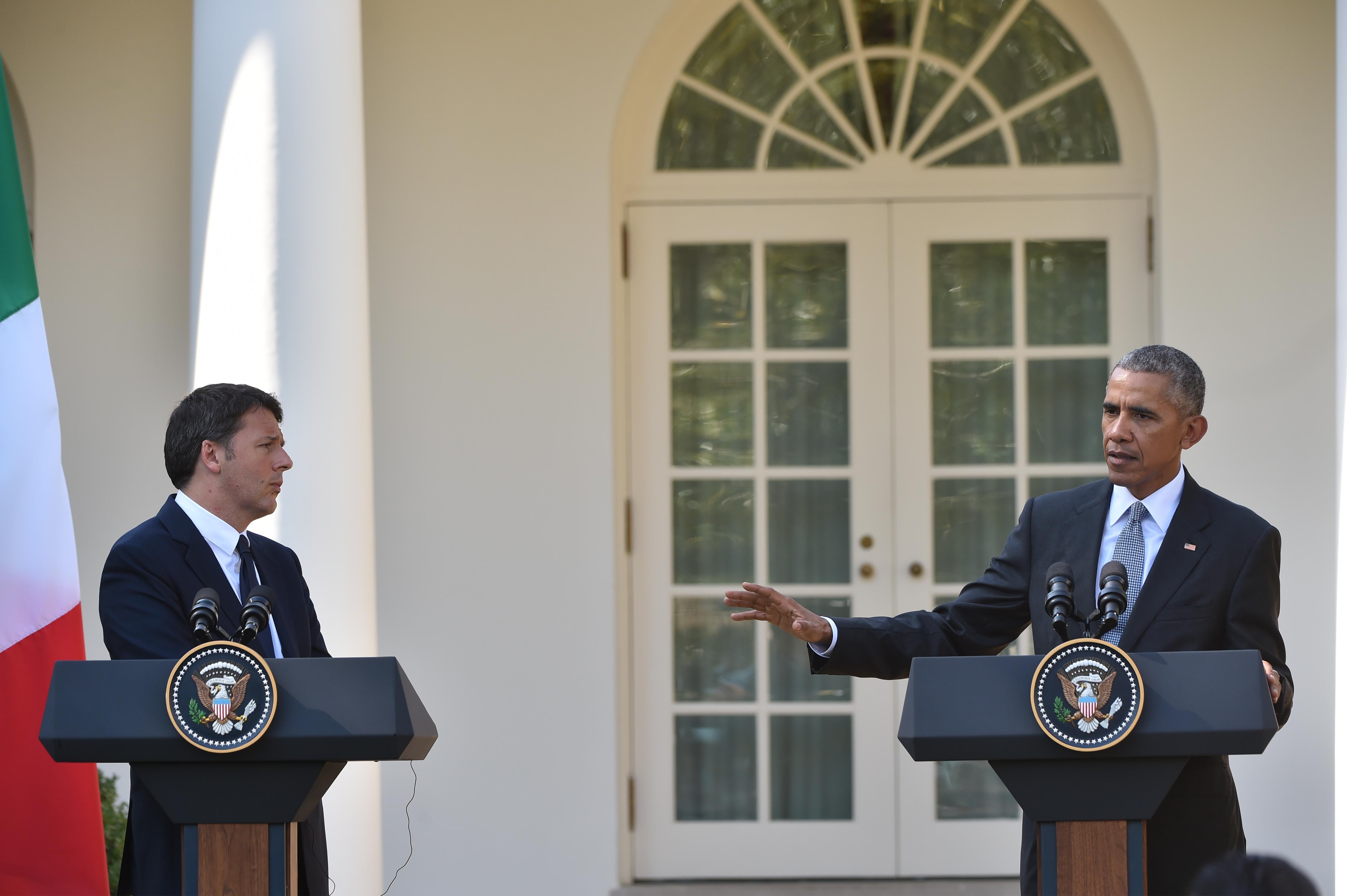 """Italia-Usa, Obama: """"I nostri pensieri sono con Amatrice"""""""
