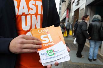 Referendum, il Tar: ricorso inammissibile