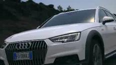 L'Audi A4 allroad e gli atleti Fisi sfidano l'Etna