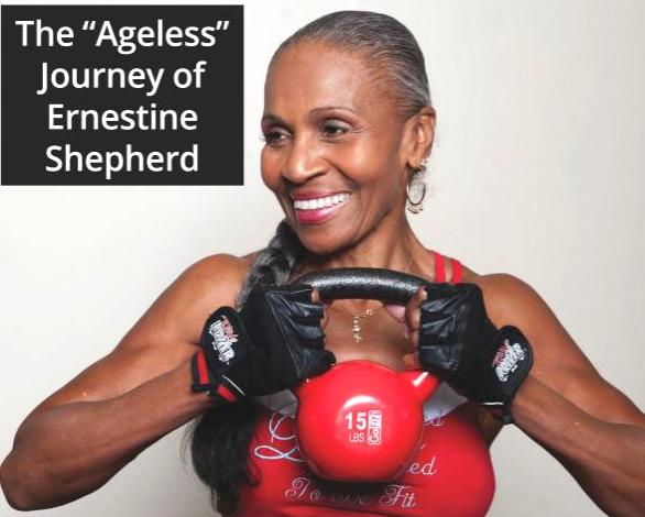 """Nonna Ernestine, body builder a 80 anni: """"L'età? E' solo una cifra"""""""
