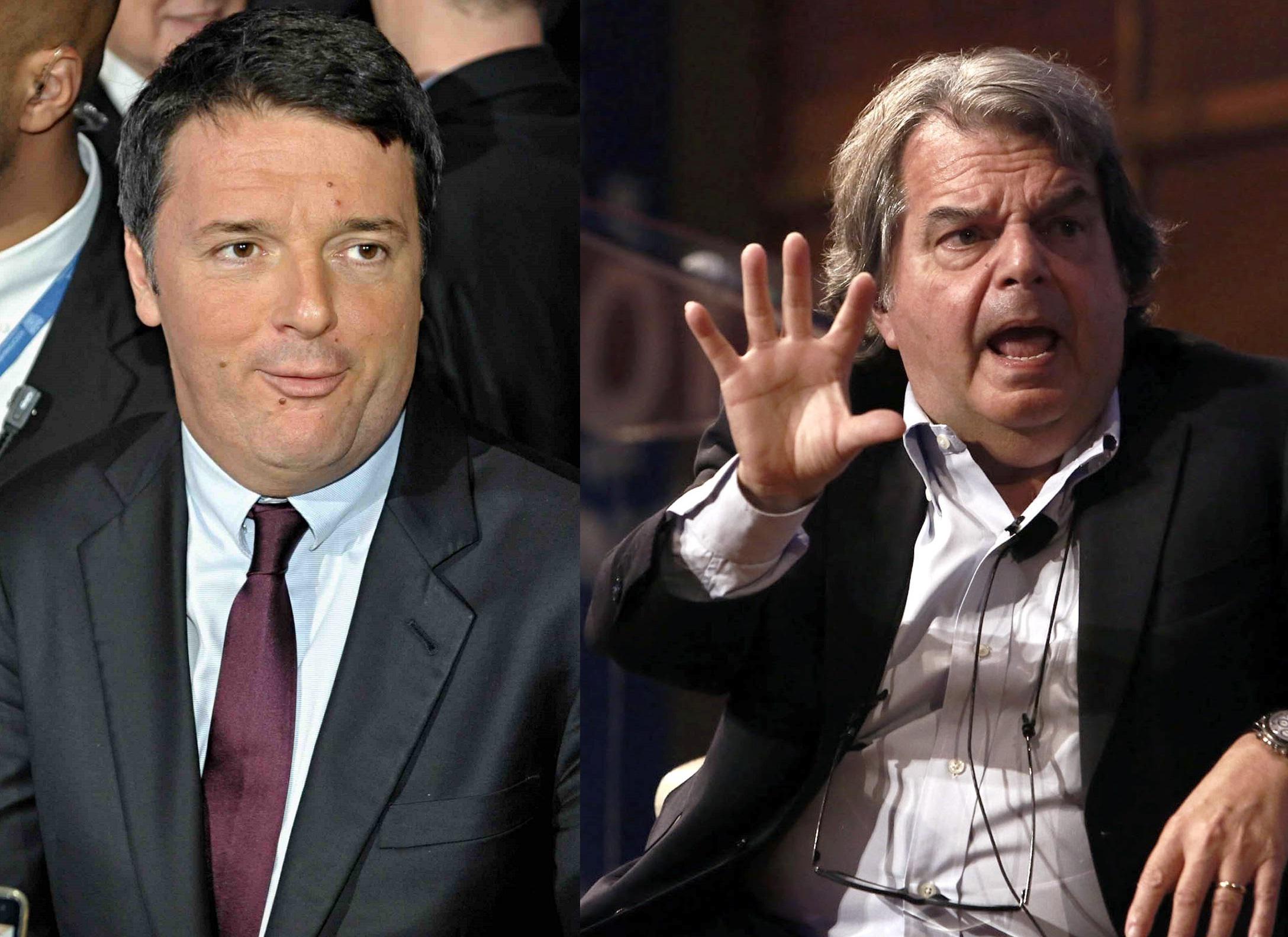 """Scontro alla Camera Renzi-Brunetta: """"Sei il nulla"""", """"Imbroglione"""""""