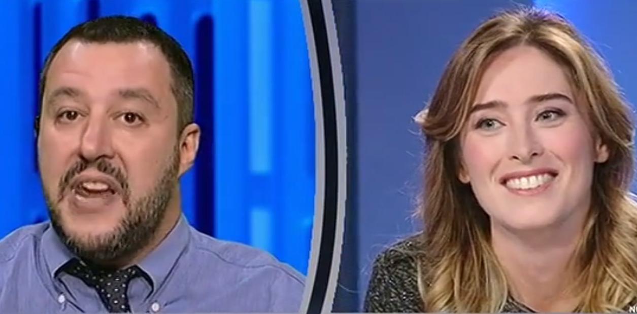 Boschi-Salvini, botta e risposta tra 'signorina' e 'giovanotto'