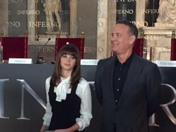 Hanks a Firenze per 'Inferno': Ignoranza cosa più pericolosa per umanità