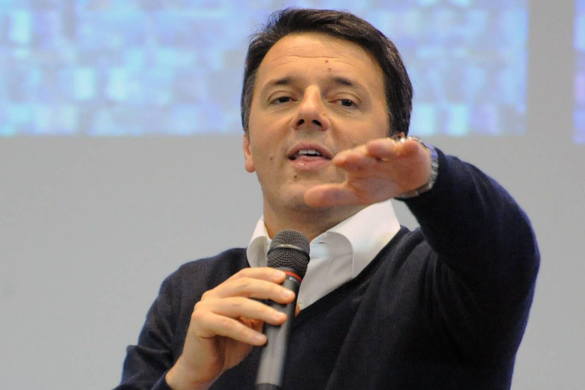 """Renzi a De Luca: """"Non fare dichiarazioni, te possino..."""""""