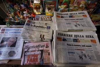 Editoria: R&S, in cinque anni -33% diffusione quotidiani in Italia