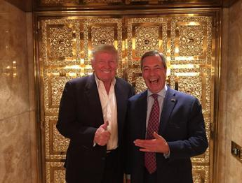 Nigel Farage ha incontrato Donald Trump