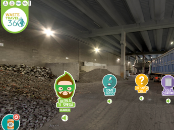 Waste Travel 360°, viaggio virtuale nel mondo dei rifiuti e del riciclo