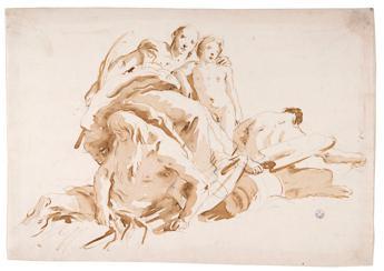 Tiepolo, per la prima volta 48 disegni in mostra a Firenze