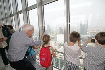 Nonni pilastro delle vacanze
