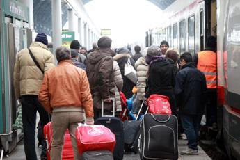 3,7 milioni di italiani sui treni a Natale, scatta piano controlli Polizia