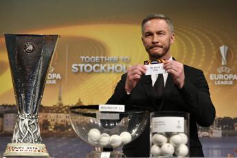 Europa League, la Roma pesca il Villarreal ai sedicesimi