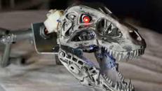 Ecco il robot Terminator-dinosauro