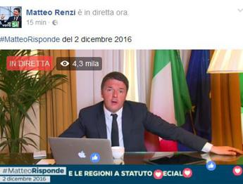 Renzi: Fossi grillino voterei la riforma /Video