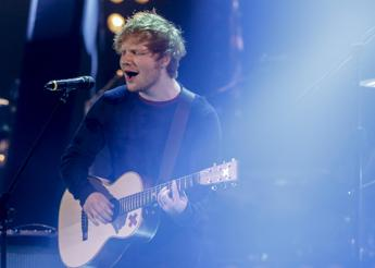 Parte da Torino il tour mondiale di Ed Sheeran