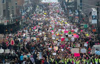 Una marea rosa invade Washington: