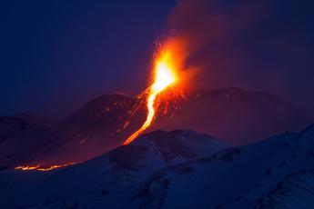 L'Etna si sta spostando
