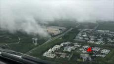 Condizioni meteo al limite, atterraggio incredibile per un Boeing 777