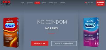 SOS preservativo, arriva l'app che te lo porta a casa in 20 minuti