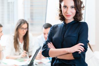 Per il 75% delle manager italiane il lavoro è una realizzazione personale