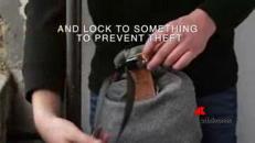 Lo zaino super resistente che protegge dai furti