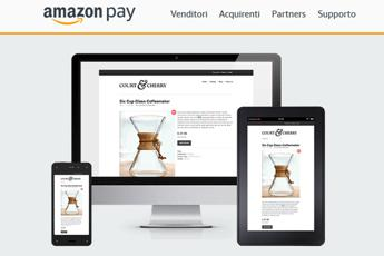 Arriva anche in Italia Amazon Pay