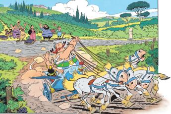'Asterix e la corsa d'Italia': svelato il titolo del nuovo album