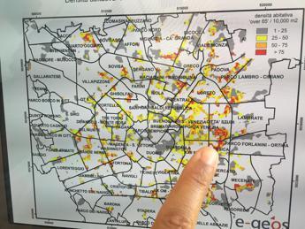 Isole di calore, ecco i quartieri di Milano più a rischio
