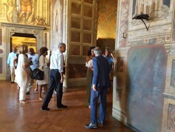 Obama in Toscana: a Siena per la