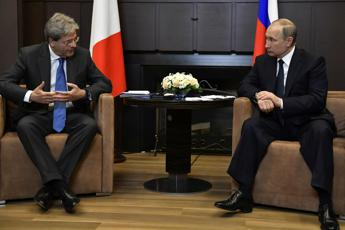 Gentiloni urges cooperation with Russia