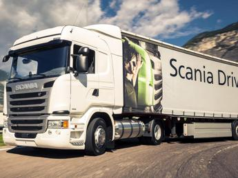Carburanti alternativi, la flotta green di Scania ad Autopromotec