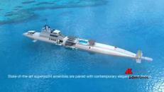 Il super yacht si trasforma in sommergibile