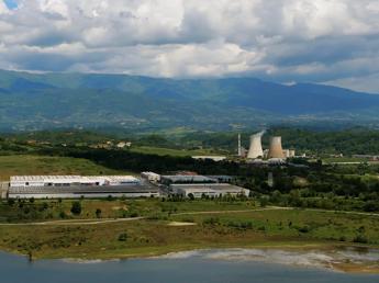 Il sito di Santa Barbara, la centrale e l'area mineraria
