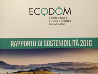 Ecodom primo in Italia per Raee gestiti, nel 2016 quasi 96mila tonn, +5%/Video
