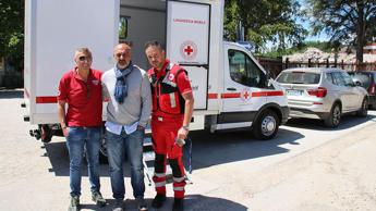 Amatrice, arriva la prima lavanderia mobile in Italia /Video