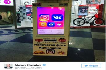 Instagram, arriva il distributore automatico di follower e like