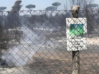 Incendio pineta Ostia, preso quarto piromane