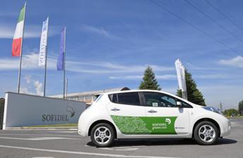 Car sharing aziendale e incentivi per auto elettriche, accordo Sofidel-Nissan
