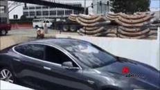 L'ascensore di Elon Musk per auto 'sotterranee'
