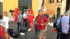 Esplode la protesta dei Vigili del Fuoco