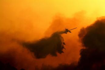 Italia in fiamme, ecco la mappa degli incendi