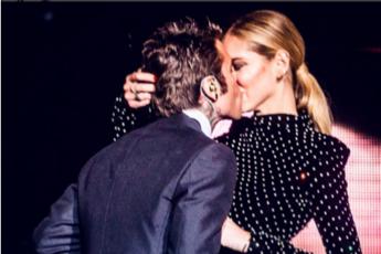 Il bacio dell'anno? Quello tra Fedez e Ferragni