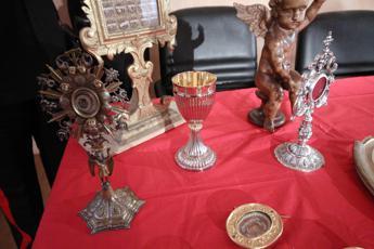 Reliquie, oro e calici: boom furti di oggetti sacri