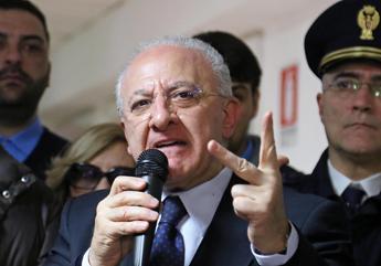 """De Luca: """"No al Neanderthal Style di Salvini"""""""